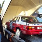 BSR Classic Cars Motorsport Porsche 924 auf dem Hänger