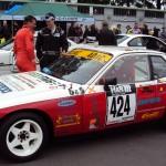 BSR Classic Cars Motorsport Porsche 924 Startvorbereitung